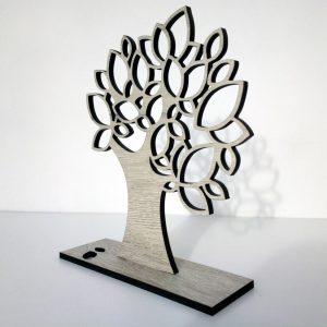 copac cu stand pentru bijuterii