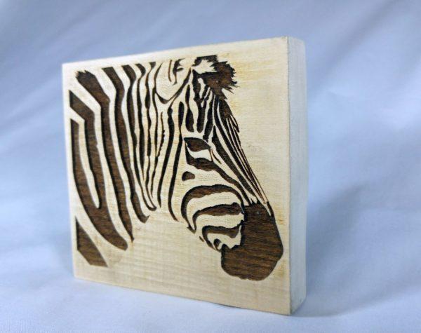 tablou gravura zebra