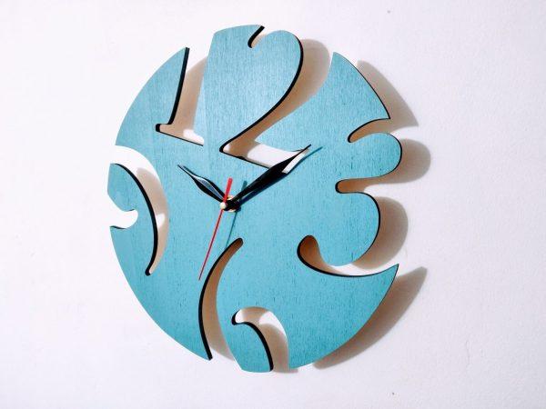 ceas cifre bleu