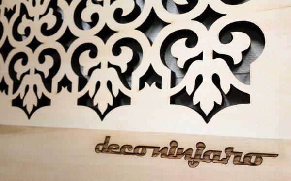 panou decorativ lemn tei
