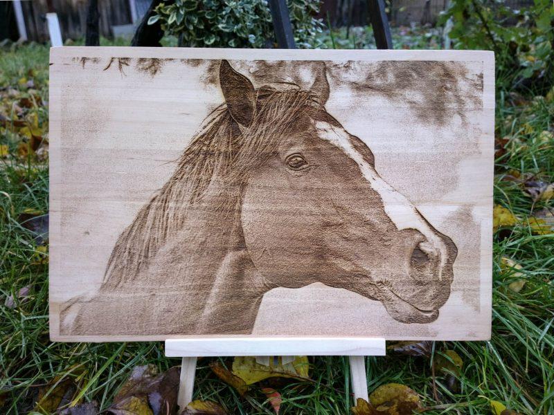 tablou gravat lemn tei - cal (2)