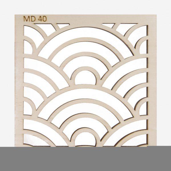panou decorativ MD40