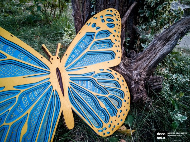 fluture monarh