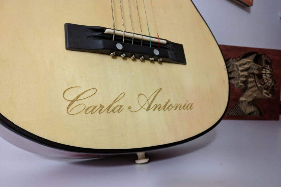 Gravura Chitara Carla Antonia